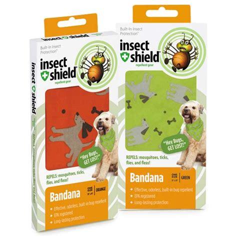 Doggie Tick Spray insect shield bandana flea repellent bandana