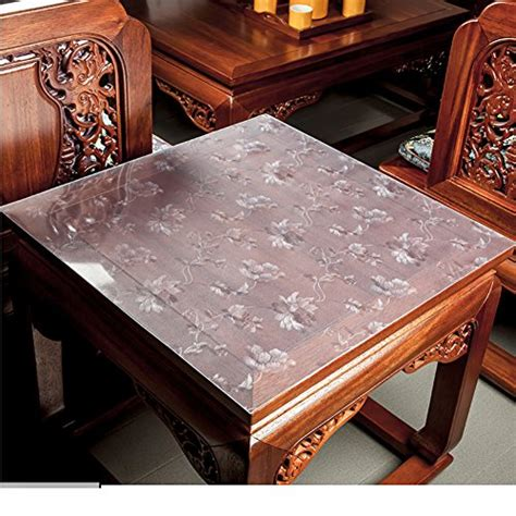 Bedside Table Mats by Hrcgfhgfhxh Tablecloth Pvc Transparent Table Cloth