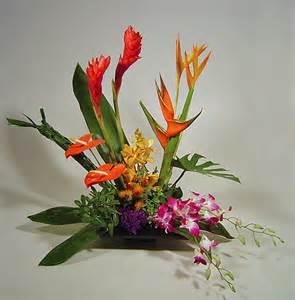 tropical flower arrangements centerpieces floral centerpieces floral design arrangements