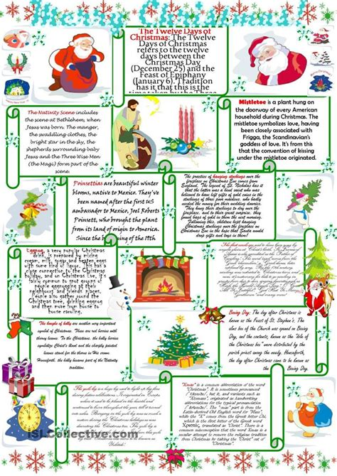 english printable worksheets christmas 28 best christmas images on pinterest english language