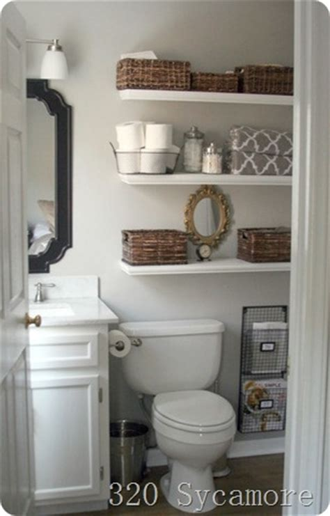 Bathroom Storage For Small Bathrooms Desginer Small Bathroom Storage Solutions Blogher