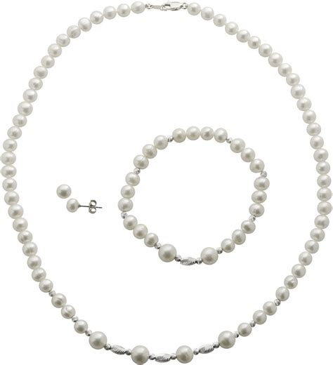 jcpenney jewelry cultured freshwater pearl 3 pc