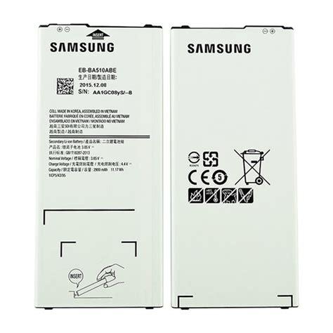 Baterai 3ds Ori samsung galaxy a5 2016 battery eb ba510abe
