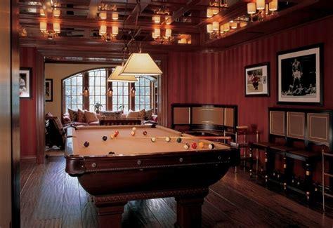 billiards room interior design tips  ideas home
