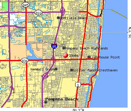 map of florida pompano 33064 zip code pompano florida profile homes