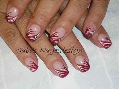 gel nail designs for middle aged women nagelmodellage rot