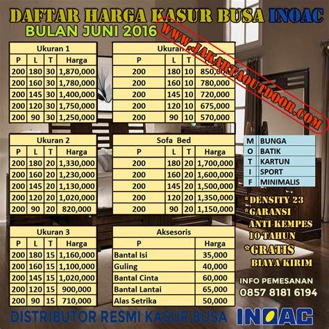 Kasur Mobil Bogor distributor resmi kasur busa inoac toko kasur busa inoac