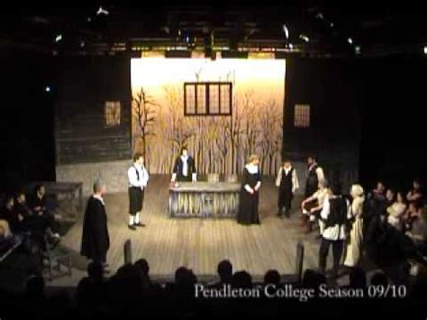 themes of act 3 of the crucible the crucible act three in the court pendleton college
