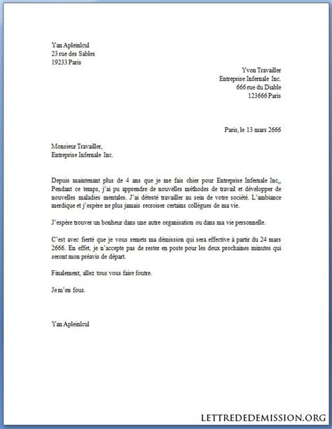 Exemple De Lettre De Démission Tunisie Lettre De D 233 Mission Belgique Application Letter