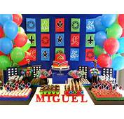 Power Ranger Birthday Party Ideas
