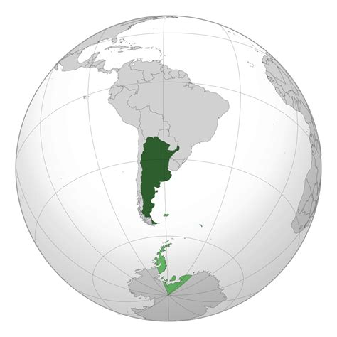 large map of large location map of argentina in south america vidiani