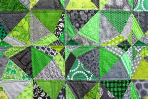 Green Quilt Green Grey Finished Wombat Quilts