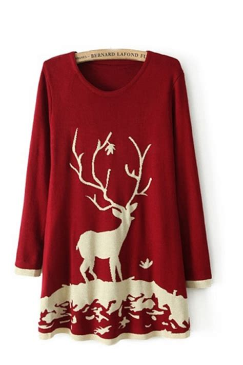 knit pattern christmas sweater knitting reindeer pattern christmas sweater