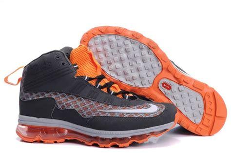 ken griffey jr basketball shoes new ken griffey jr nike air max gray orange shoes ken