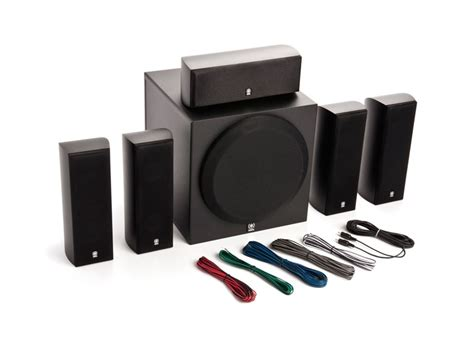 187 yamaha 5 1 home theater speaker system with powered