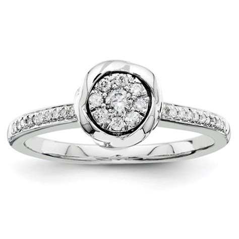 1 5ct bezel promise ring qr4034 jewelers