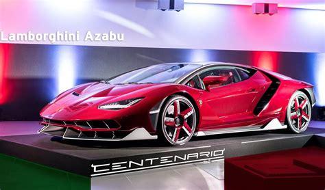 How Many Lamborghini Centenario Were Made by Lamborghini Centenario Delivered In Japan