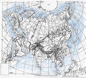Outline Map Of Russia And Northern Eurasia by Geography