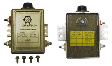 214 niehoff regulator 24volt ignition excite