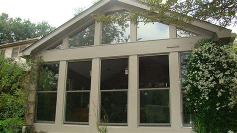 porch enclosure windows porch enclosure with hung windows in sandtone