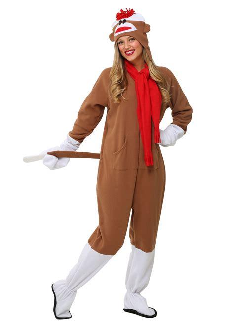 monkey costume sock monkey costume
