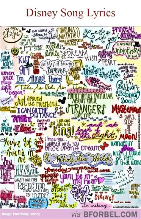 disney songs some famous disney song lyrics can you spot your favorite
