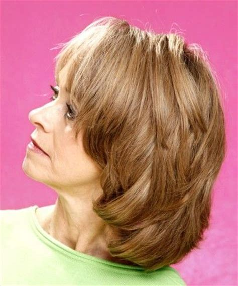 med to short haircut layers for gray over 60 nice medium hairstyles with layers for women over 50 my