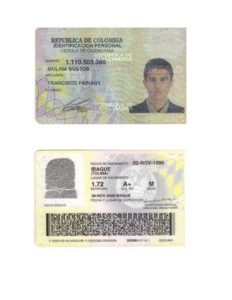 donde votar consulta la cedula de ciudadania de colombia cedula