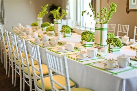 Table Settings Ideas Engagement Party Color Wedding Ideas Pinterest