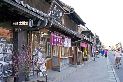 japanese town kawagoe a day in historic japan oh my omiyage