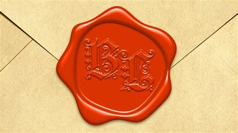 photoshop tutorial wax seal photoshop tutorial how to create a wax seal with raised