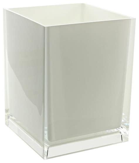 glass bathroom trash can glass wastebasket amazing mesh metal wastebasket with