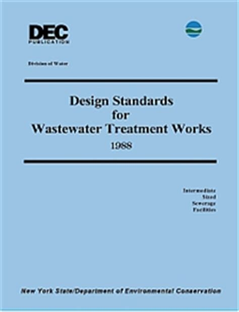 sewerage design guidelines malaysia 1988 nys dec design standards for wastewater treatment