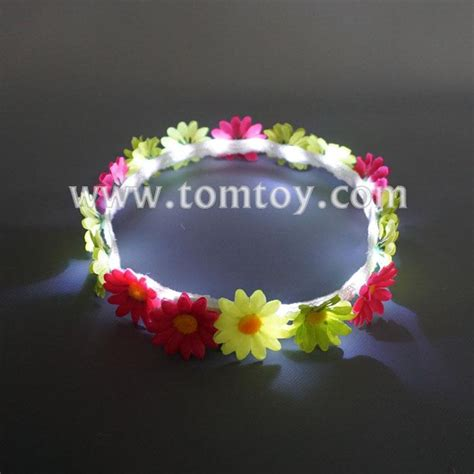 Handmade Flower Crown - handmade led flower crown headband tomtoy