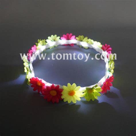 Flower Crown Handmade - handmade led flower crown headband tomtoy