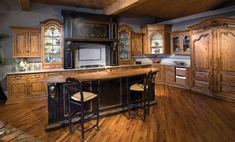 Handcrafted Cabinetry - alder custom kitchen cabinetry habersham home