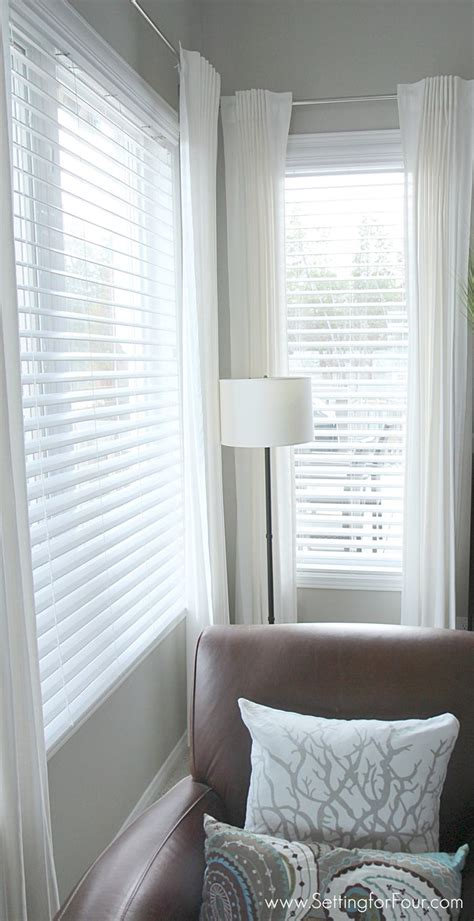 wood blinds with curtains best 25 window blinds ideas on pinterest
