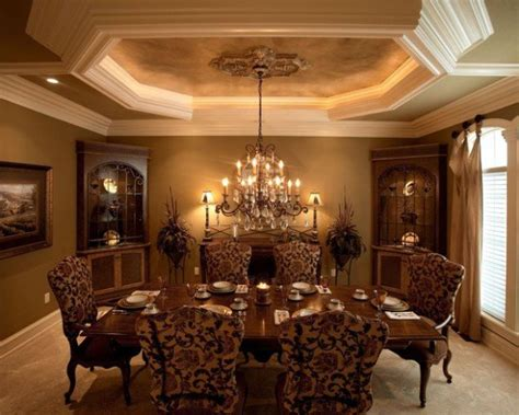 Dining Room Tray Ceiling by 20 Amazing Dining Area Style Concepts With Tray Ceiling Pinkous