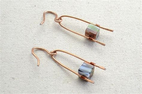 diy wire jewelry diy wire wishbone pattern earrings 183 how to make a pair of