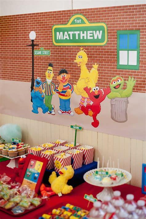 birthday themes sesame street kara s party ideas sesame street birthday party
