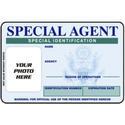 fbi special agent id card quotes