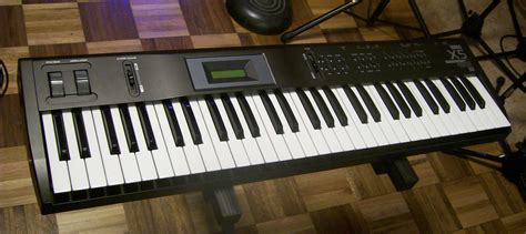 traded korg x5 digital synth keyboard mint condition w talkbass