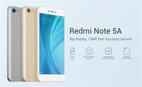 New Xiaomi Redmi Note 5a Note5a Not 5a Not5a Xiomi Ume Flip Cover Leat the redmi note 5a is now available in malaysia soyacincau
