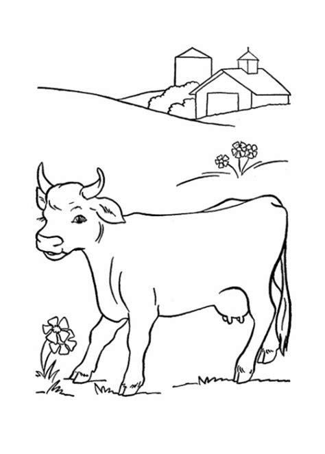 Malvorlagen Zum Drucken Ausmalbild Kuh Kostenlos 2 Colouring In Sheets Farm Animals