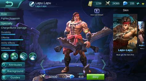 mobile legend new mobile legends has a new and he s gameops