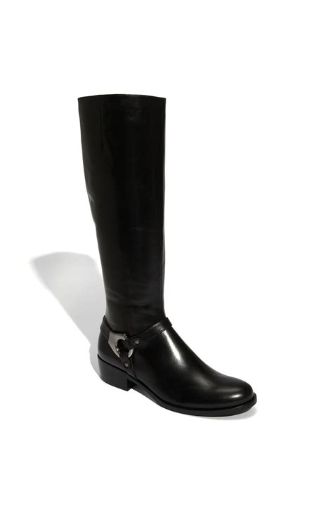 via spiga boot in black lyst