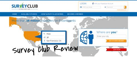Survey Club - survey club review read this before joining surviving