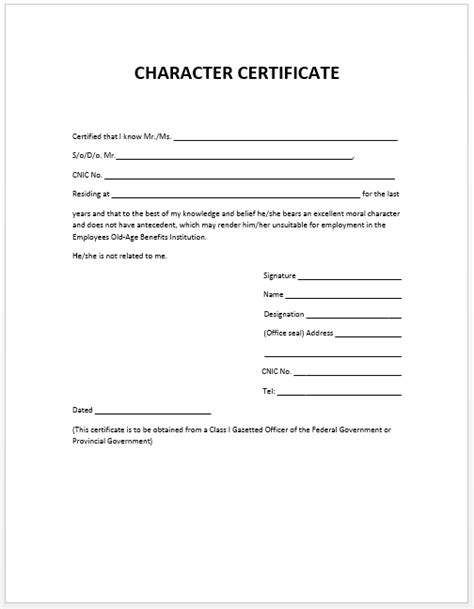 character certificate template search results for mcphs calendar calendar 2015