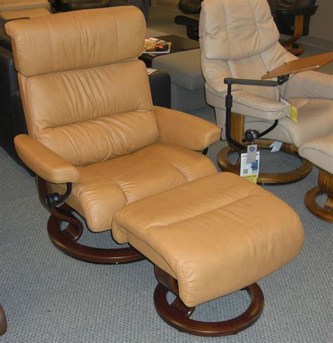 tan leather recliner chair stressless paloma tan leather by ekornes stressless