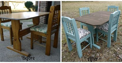 how to refinish a kitchen table garbage to glam how to refinish a kitchen table